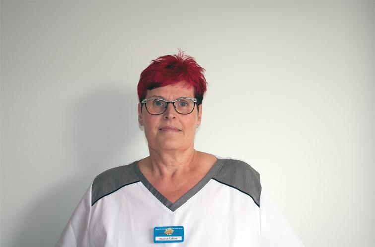 Pflegekraft Sabine